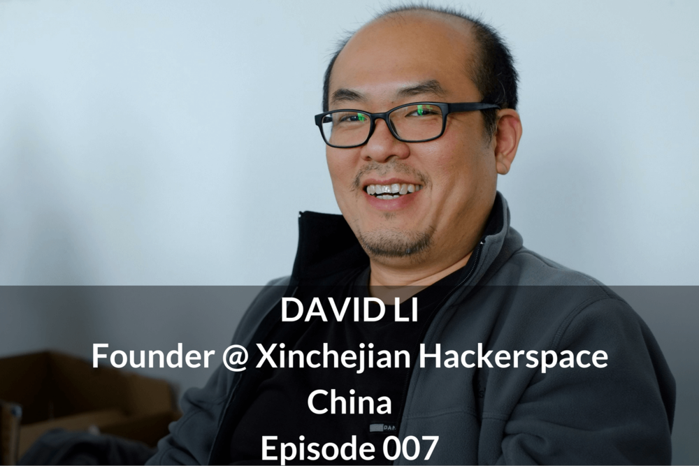 DAVID LI Founder @ Xinchejian Hackerspace China Growthkungfu.com