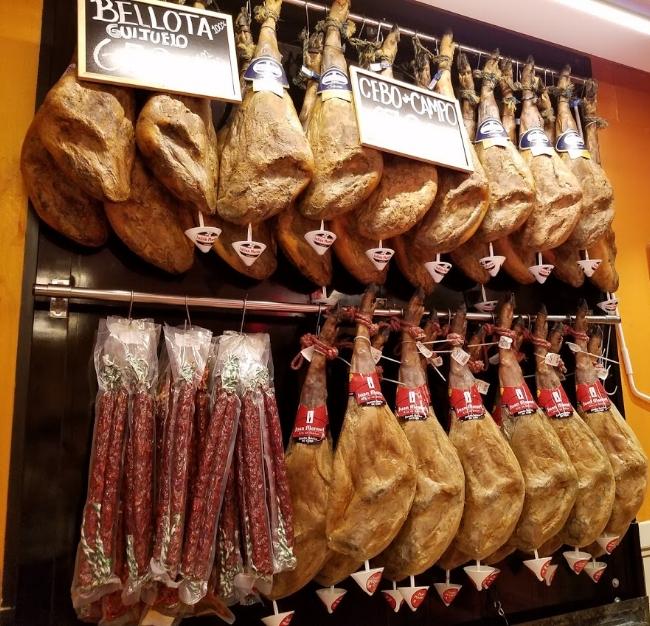 Jamones (Spanish cured ham)