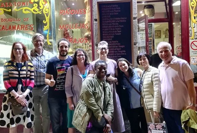 #tbthursday #tbt to #Madrid and #Trujillo #españa #ole #travelblogger #turismo #viajaresvivir #selfcare #travelfeedsthesoul #jamoniberico #quesoiberico #foodblogger @devour_tours