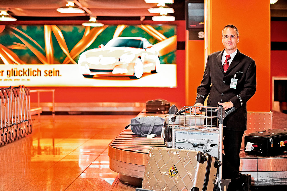 Baggage Handling Dusseldorf Airport GEA Group