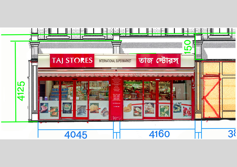 Taj Stores workings