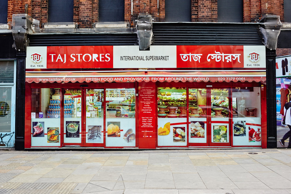 Taj Stores In Situ