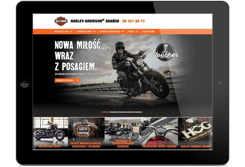 Gdansk Harley-Davidson® website