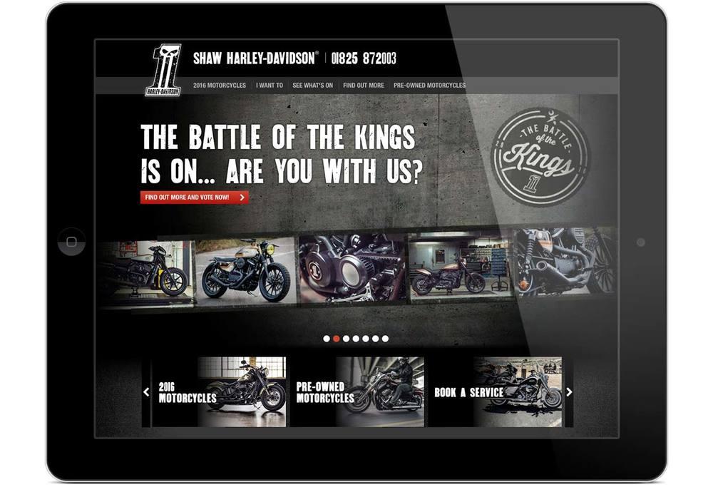 Shaw Harley-Davidson® website