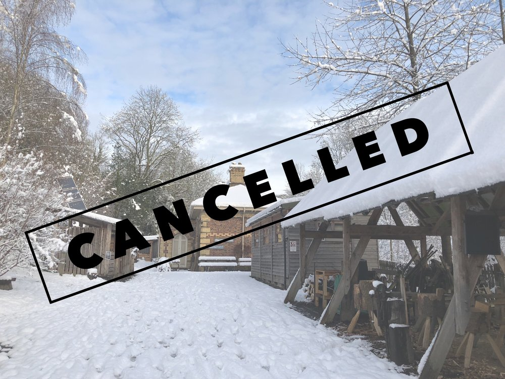 From Small Woods:   It is with regret that we have decided to cancel the Christmas Fayre this weekend.  After much deliberation we have felt that the current and possibly ongoing weather conditions are unsafe for people to visit the site. We have a duty of care to both stall holders and members of the public and feel this is the most sensible course of action.  We have made every effort to clear the site and have the surrounding roads cleared, but it is not possible to ensure that the compacted ice will be clear in time. With low temperatures over the next few days it is uncertain that there will be sufficient time to thaw.  Thank you for your interest and support, we hope to do an event in the spring time.