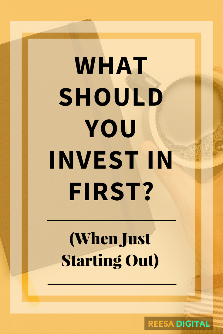 Online Marketing Tips: What Should You Invest In First When Just Starting Out
