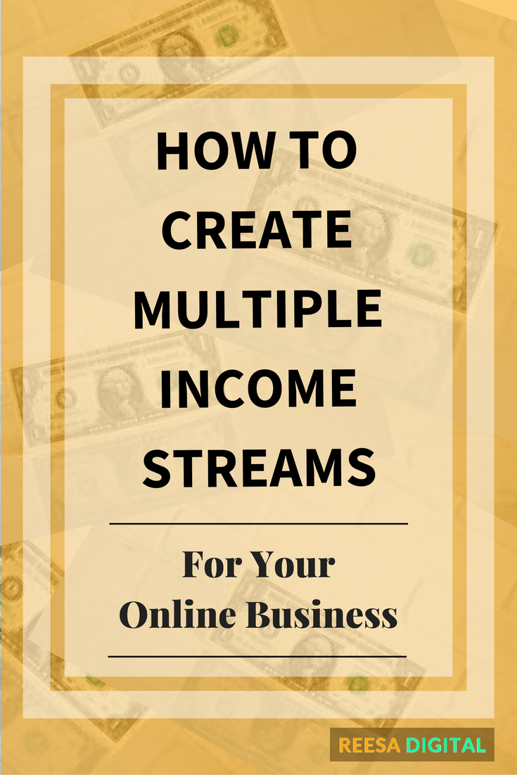 Business tips: How to create multiple income streams for your online business