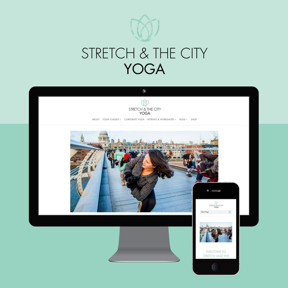 Website Design - Yoga Teacher