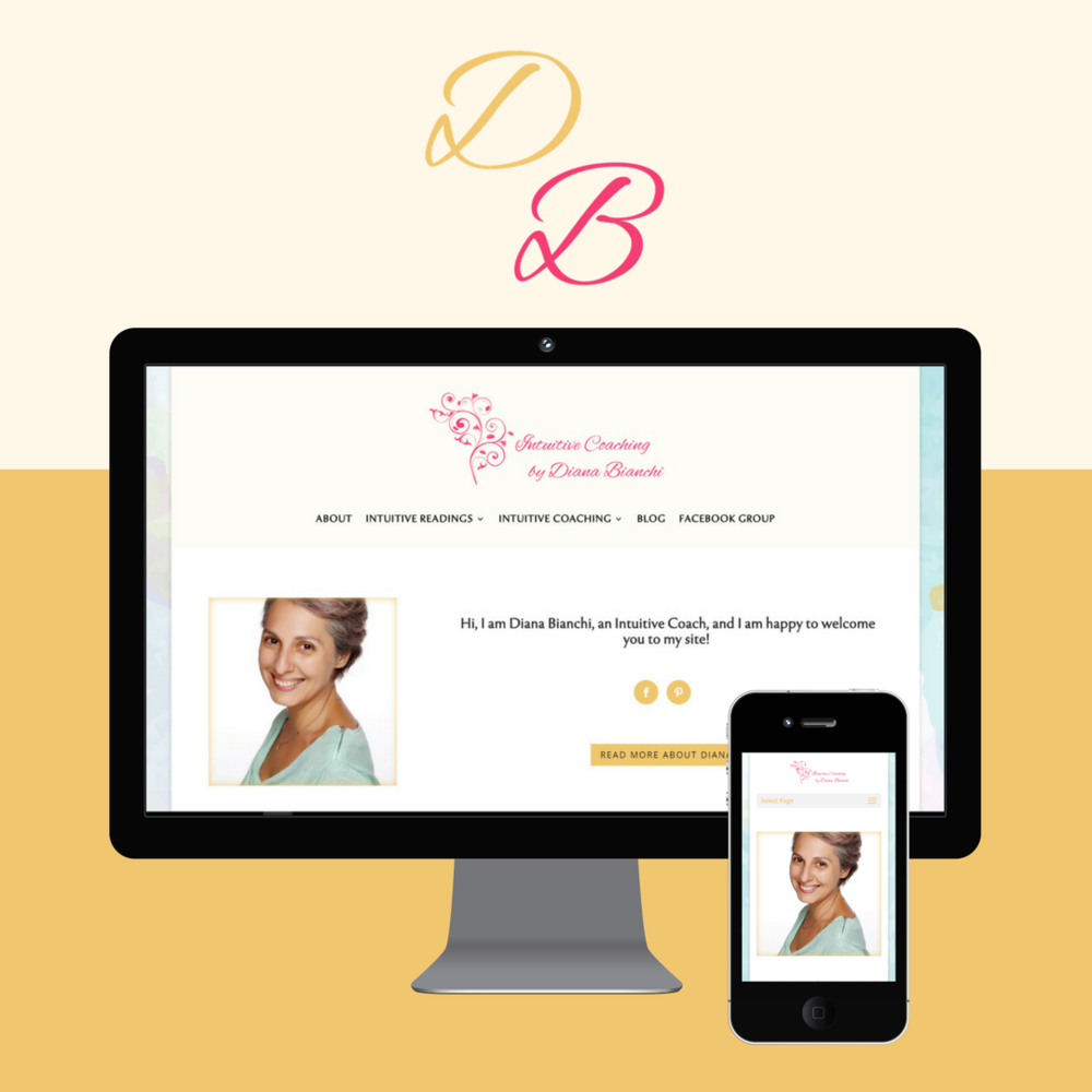 Website Design: Holistic Coaching