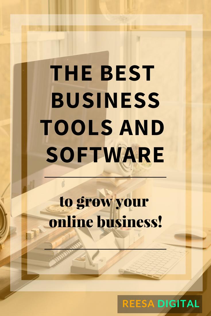 Online Business Tools, Software & Resources for Online Entrepreneurs