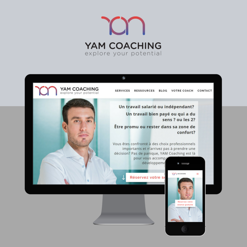 Website Design - Coaching Business