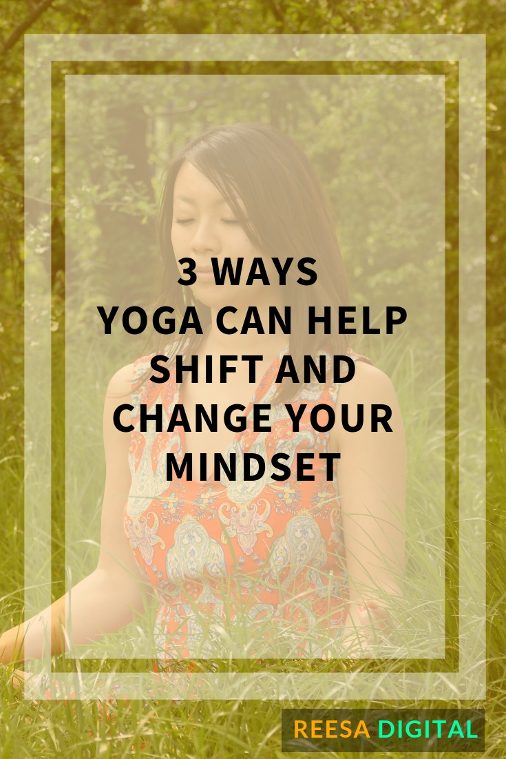 Is your current mindset practice all about journaling and reading out positive affirmations? If that's the case look beyond and start experiment your daily mindset practice by integrating Yoga and shift and change your mindset to create the life & business you desire.