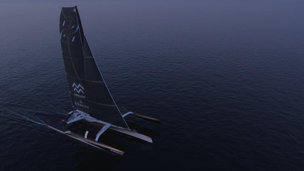 transat regatta drone filming