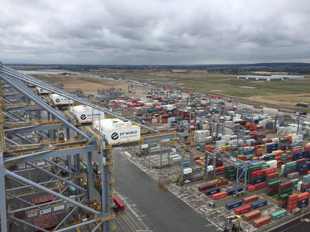 aerial filming shipyard
