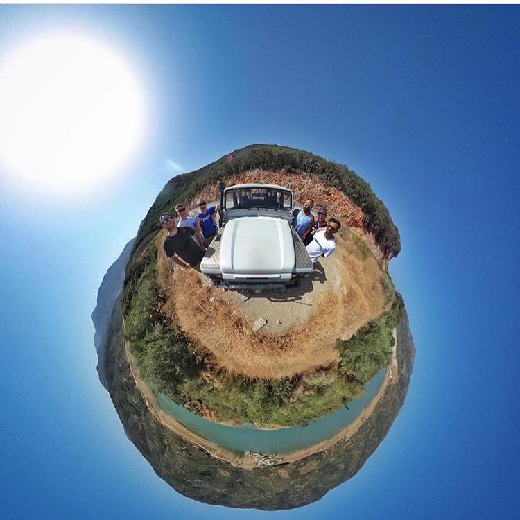 drone filming in crete
