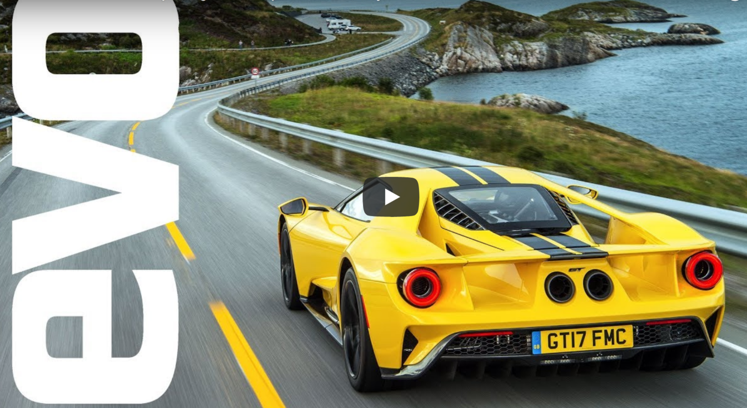 Ford Gt Norway Evo Mag Edit Launch
