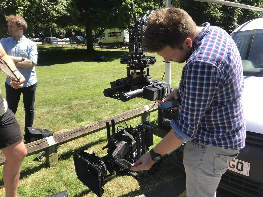 arri alexa mini tracking vehicle