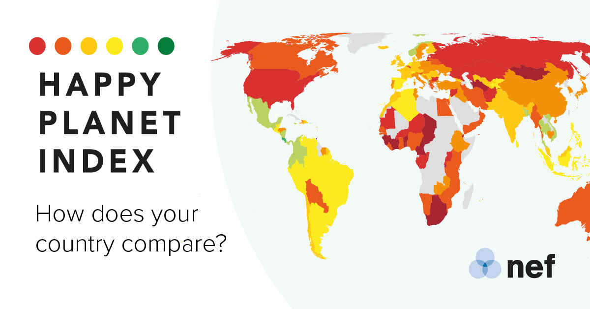 About the HPI — Happy Planet Index