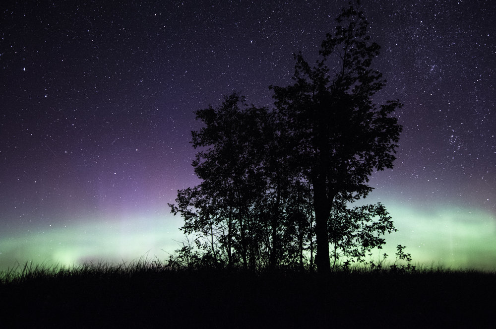Aurora in Ontonagon