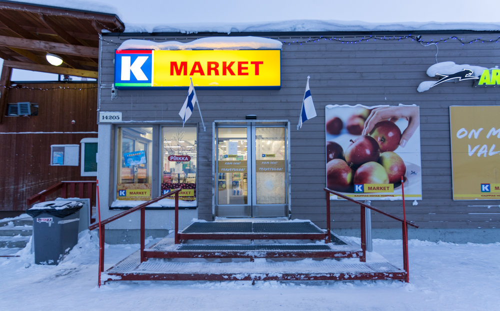 """The only store in town, it has a decent selection of groceries for high prices. Still, it's full of mainly Norwegians that drive across the border to buy """"cheaper"""" groceries and alcohol."""
