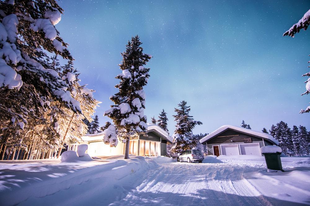 A typical home near Hetta