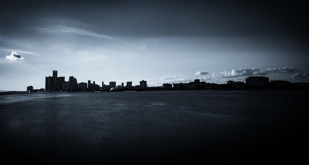 Detroit Silhouette