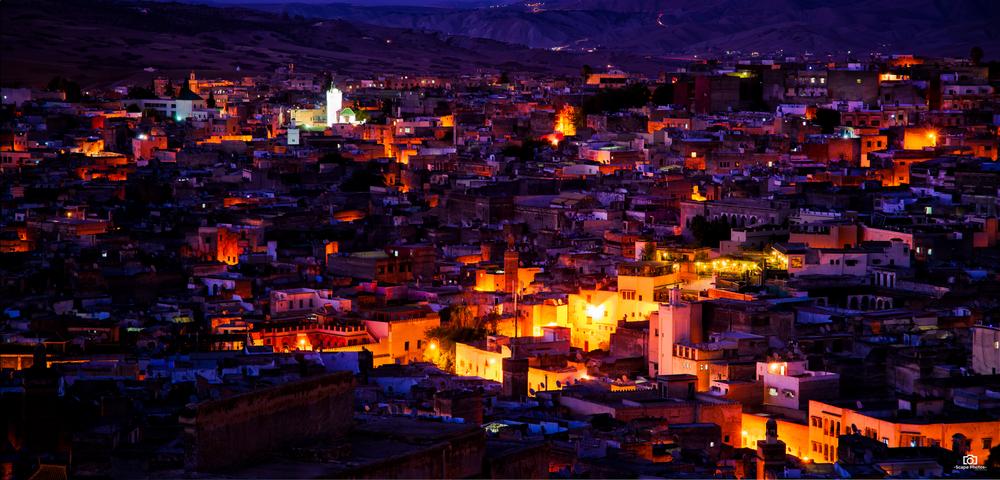 Nachtelijk Fez