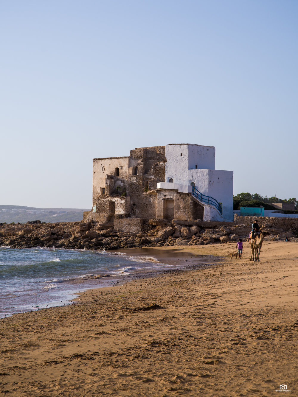 Het strand van Sidi Kaouki