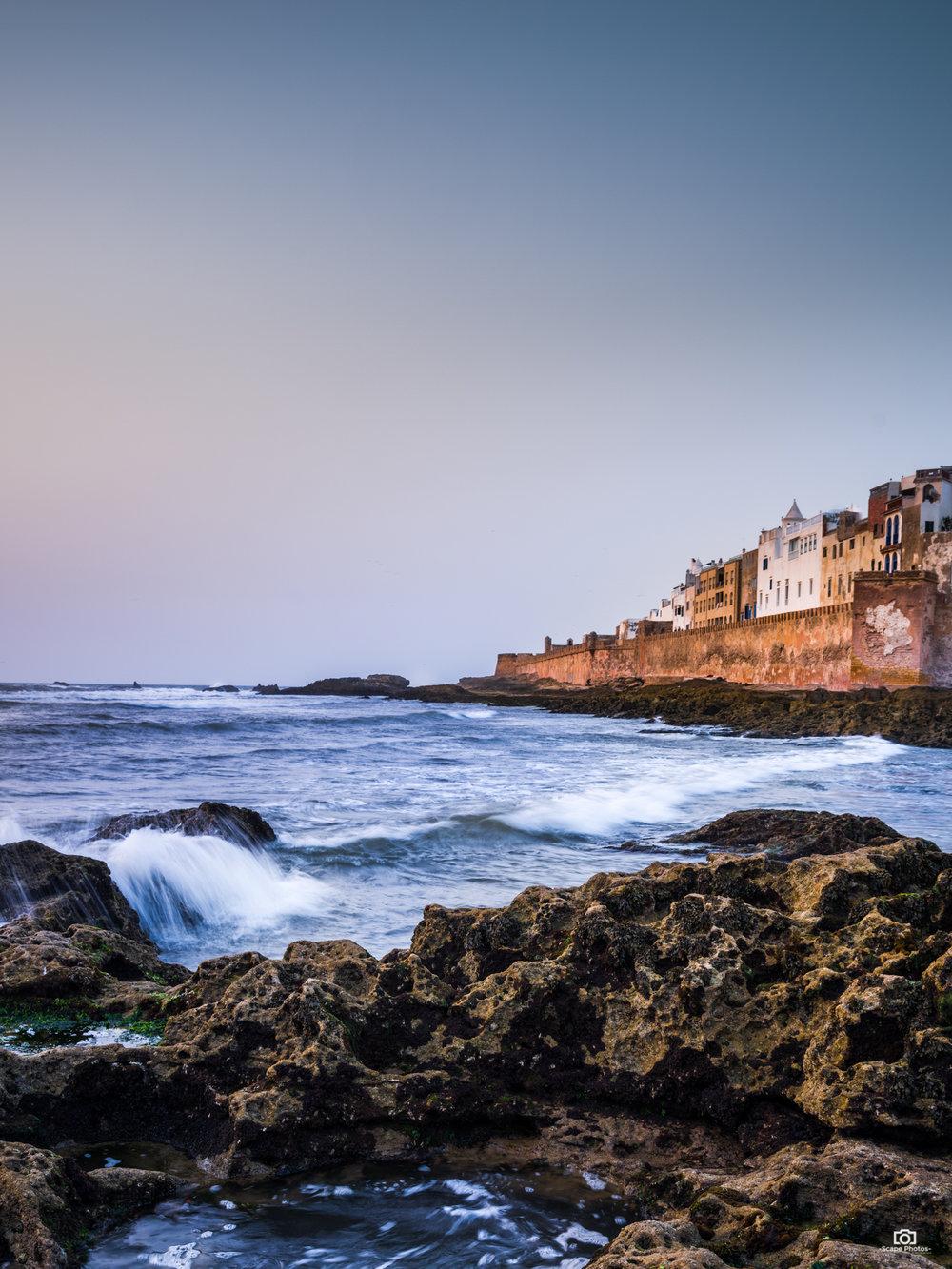De vestingmuur van Essaouira