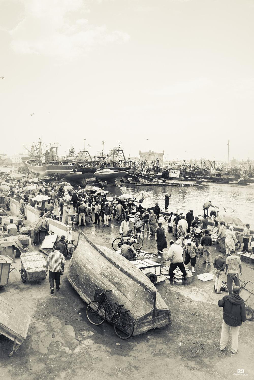 Vis markt