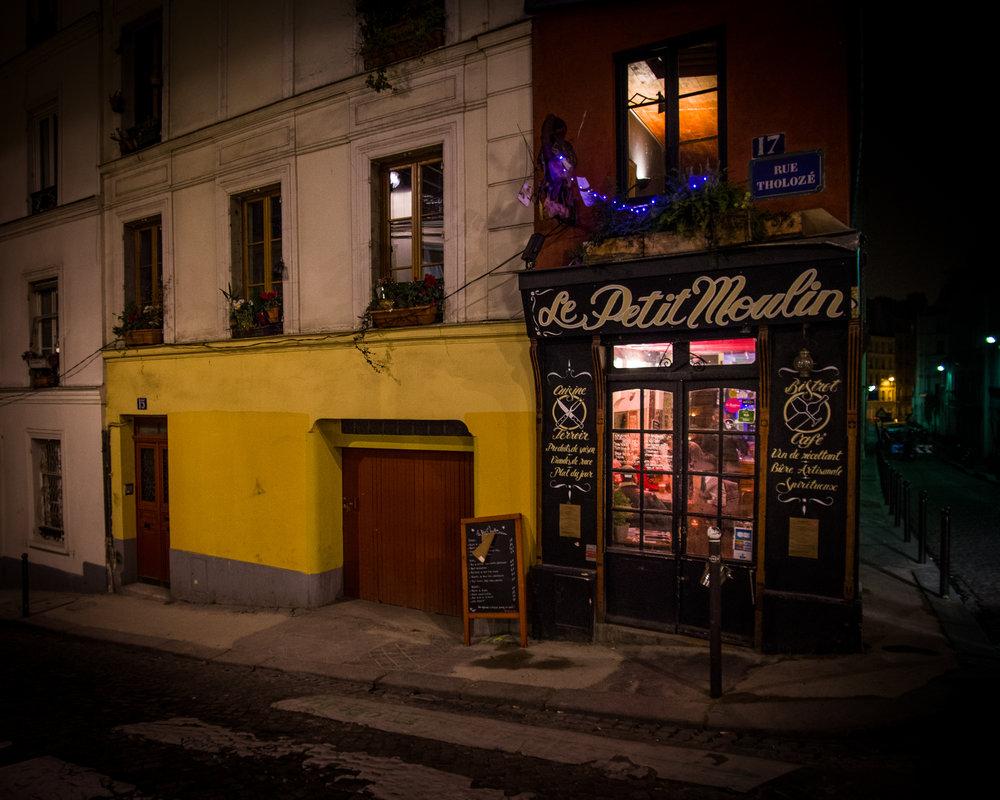 Het gezelligste restaurant van Parijs op 31 december 2016.