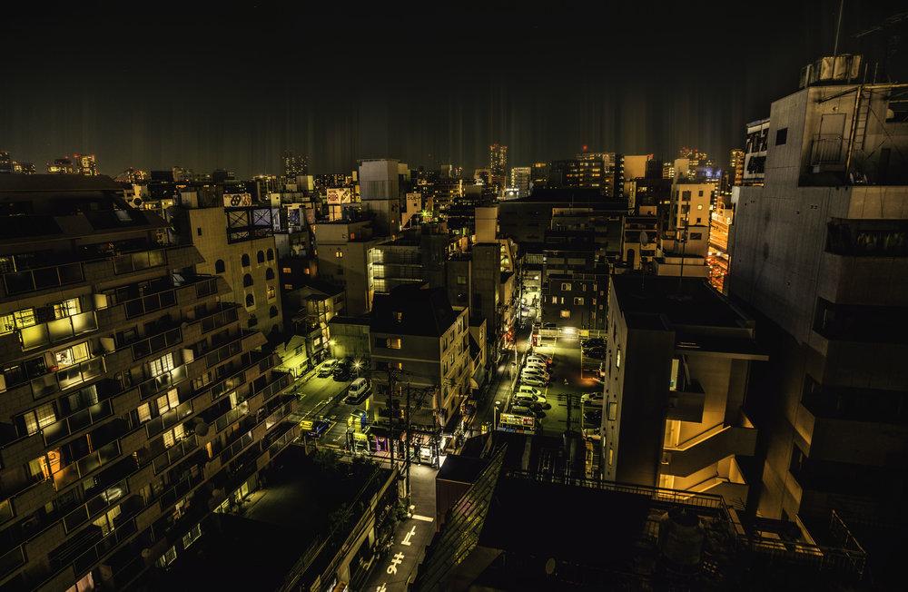 Osaka had wel wat weg van de Matrix