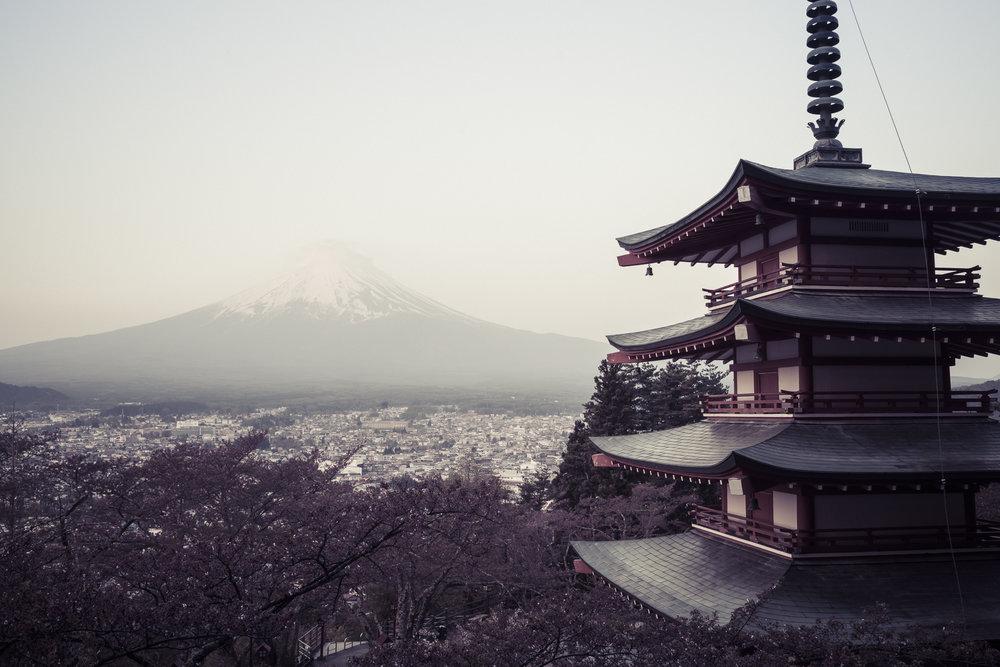Fuji-sans Pagode