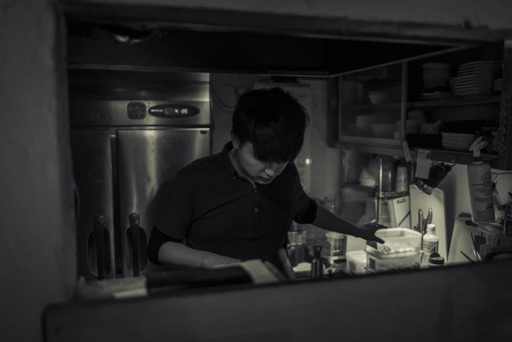 Yakitori chef!