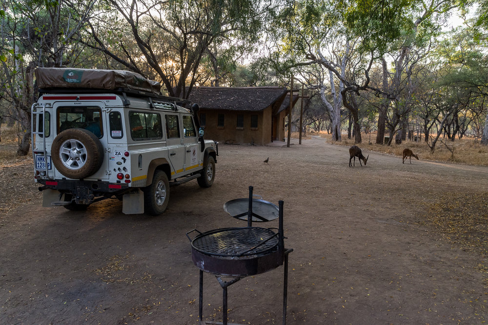 Campsite and ablutions