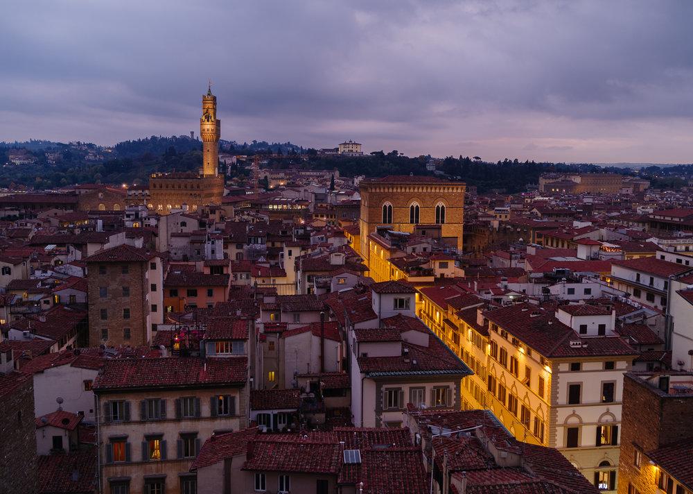 Florence komt tot rust