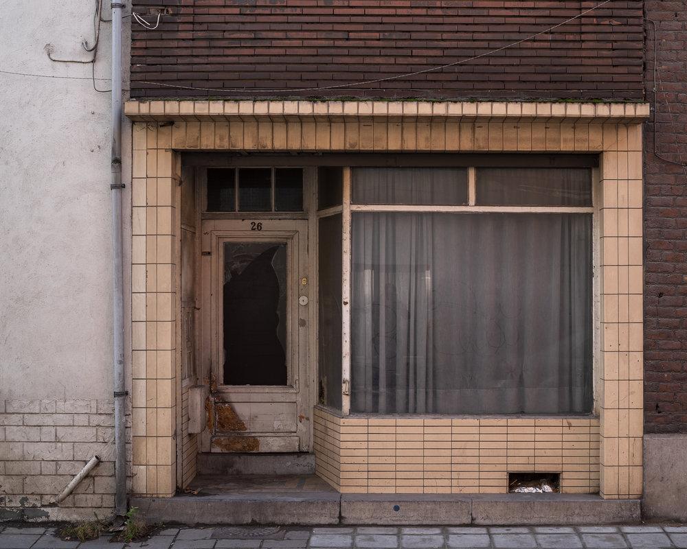 Een verwaarloosd huis