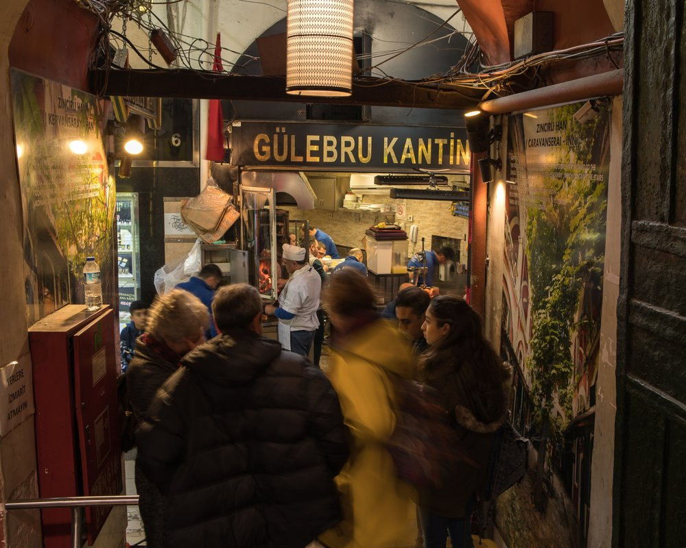 Op weg in de Grand Bazaar
