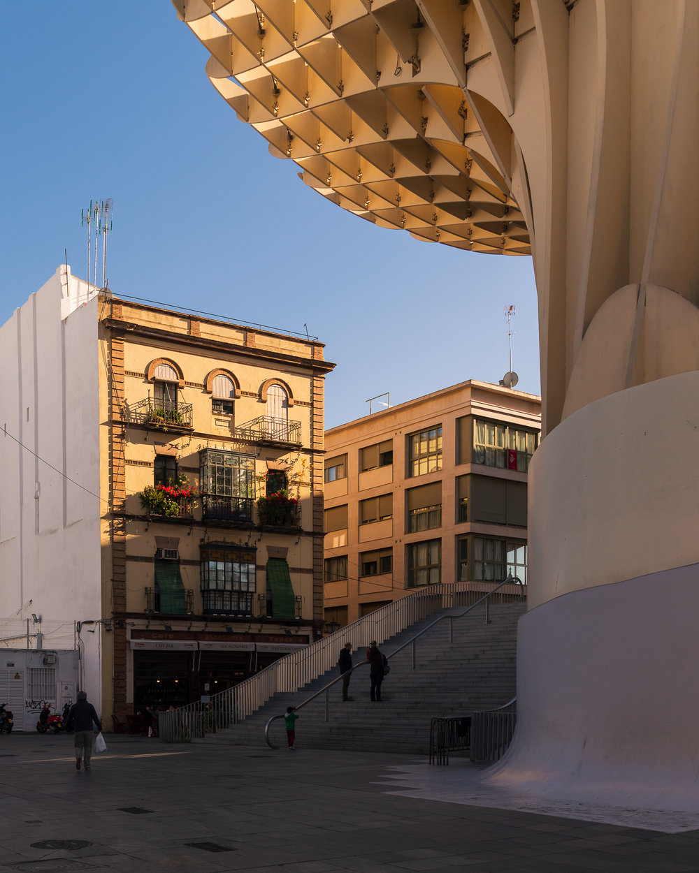 Klassieke en moderne architectuur