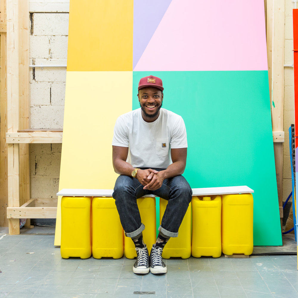 Q&A: Yinka Ilori x London Design Festival