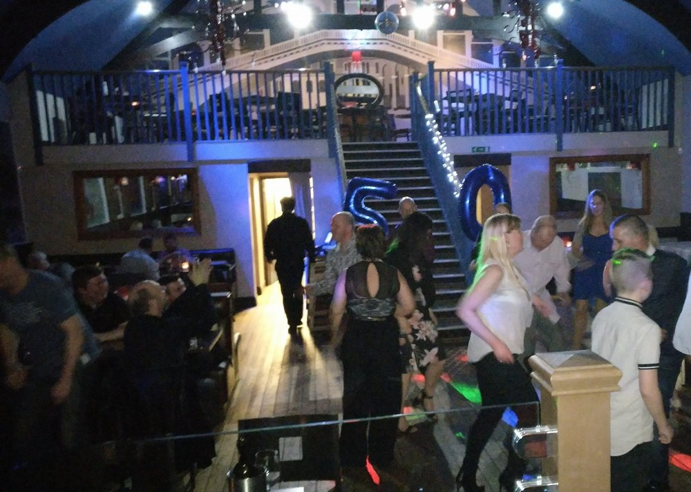 One of the pictures taken on the night of the Function, great time was had by all, including the band. Thanks to Caroline for booking us for her husband's big birthday bash!