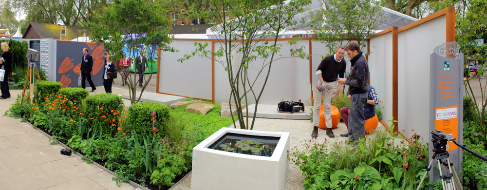 Award-winning installation at Chelsea Flower Show
