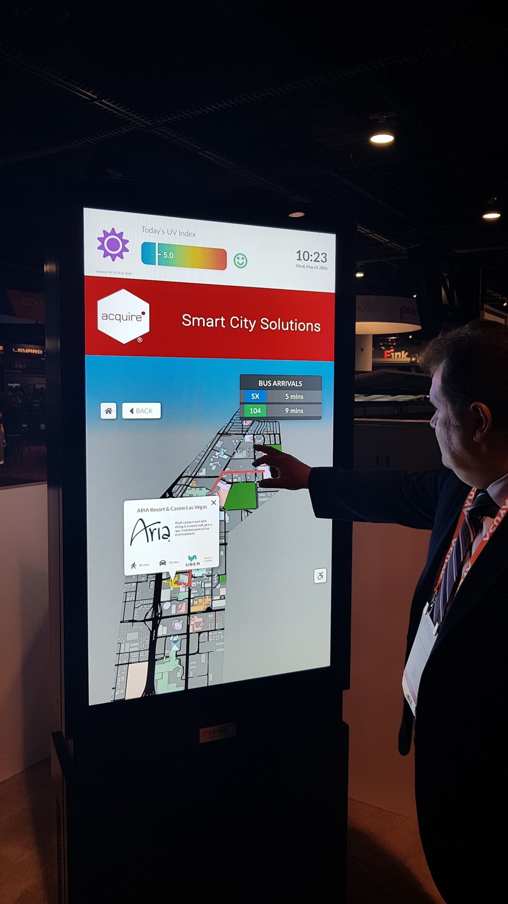 Smart City at LG-MRI Booth