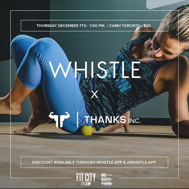 New event coming your way! Join us next week for an hour workshop on mobility, flexibility and strength. // REGISTRATION LINK IN BIO // ✖️✖️✖️// #whistleapp #event #fitness #yyzfitness #thankstosh #workout #health #mobility #flexibility #strength