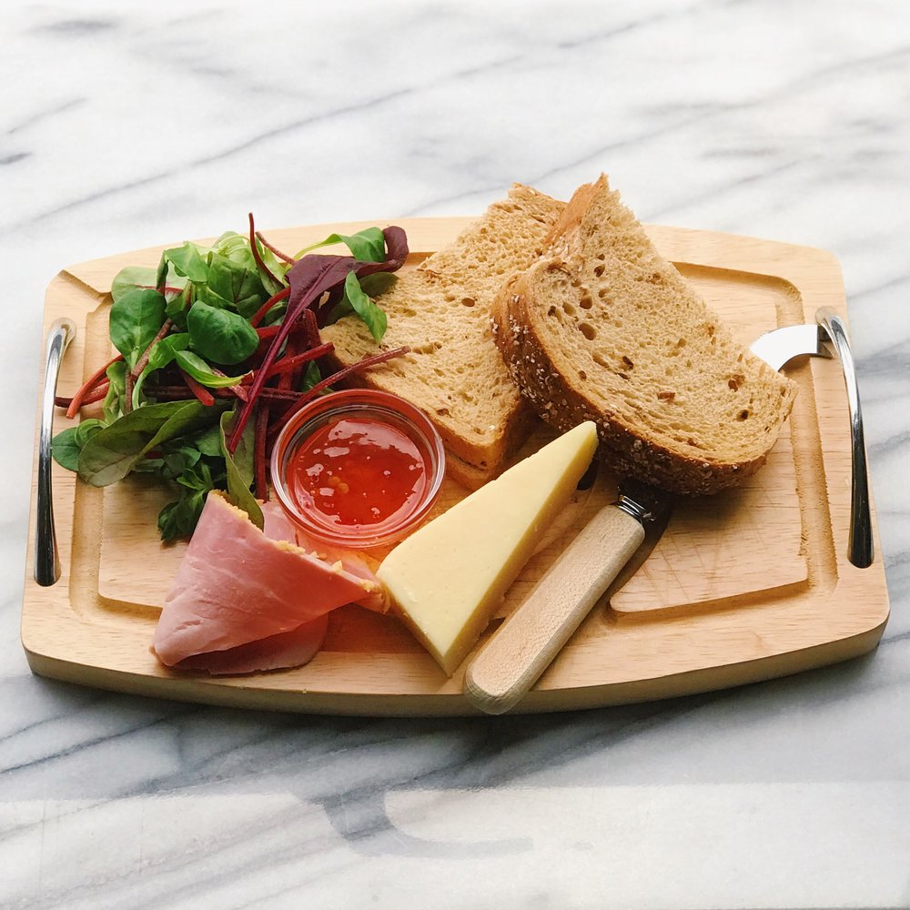 ploughmans lunch with fireflame chilli jam.jpeg