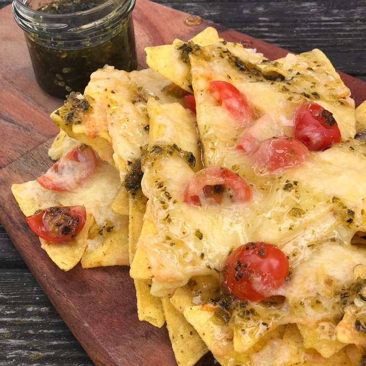 Jalapeño Jam makes a great accompaniment or topping for lots of different things. Loaded nachos is a firm favourite and rather than adding slices of jalapeños, drizzle over some Jalapeño Jam instead.