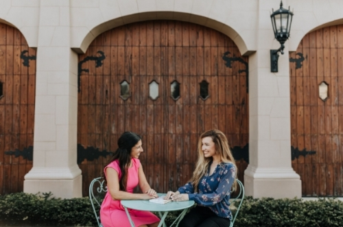 Briana (Left) & Mandi (Right), Orange Blossom Events co-owners and lead planners.