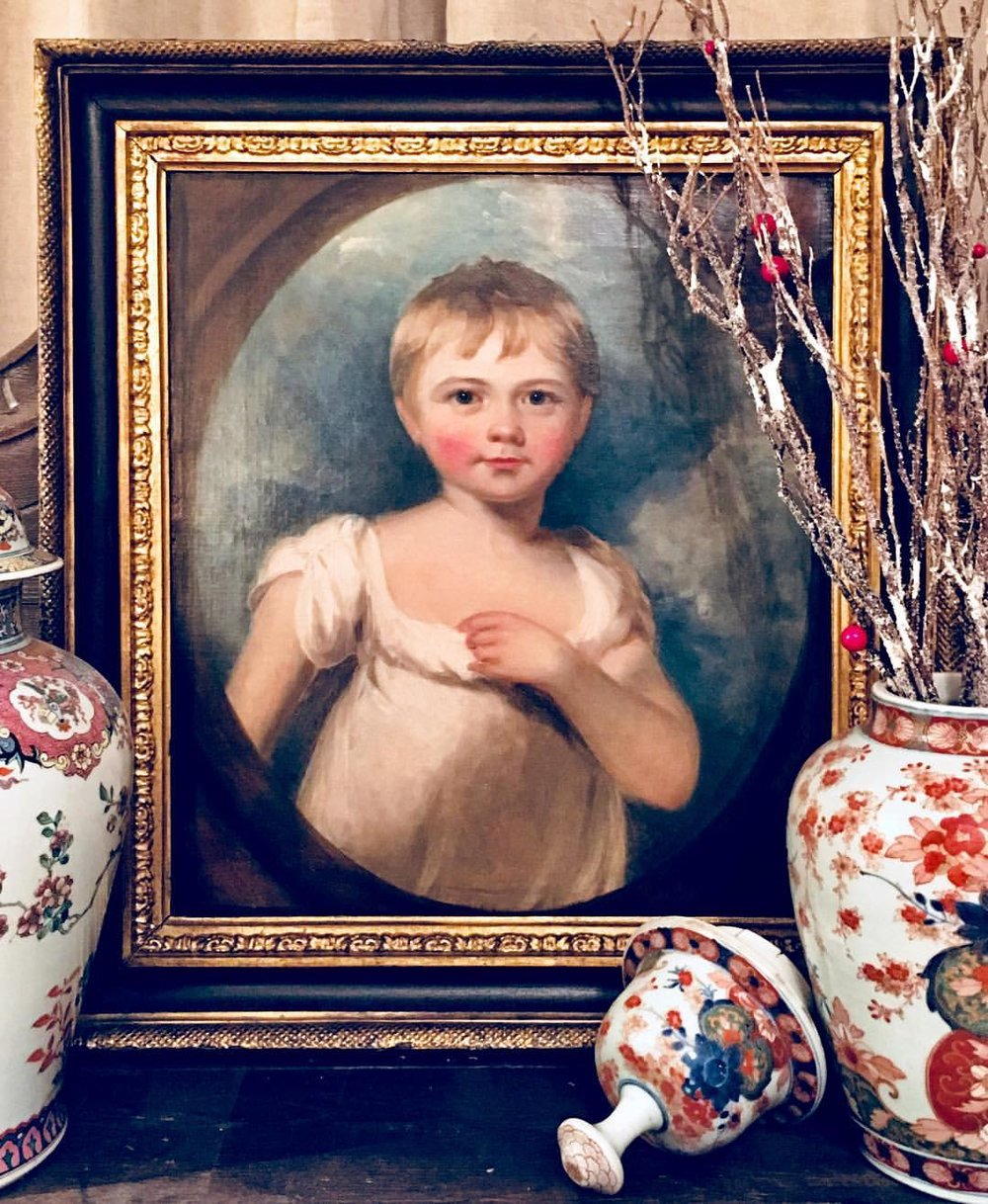 Early-19th-century painting of a young boy attributed to Martin Archer Shee, £4,250 (now sold)