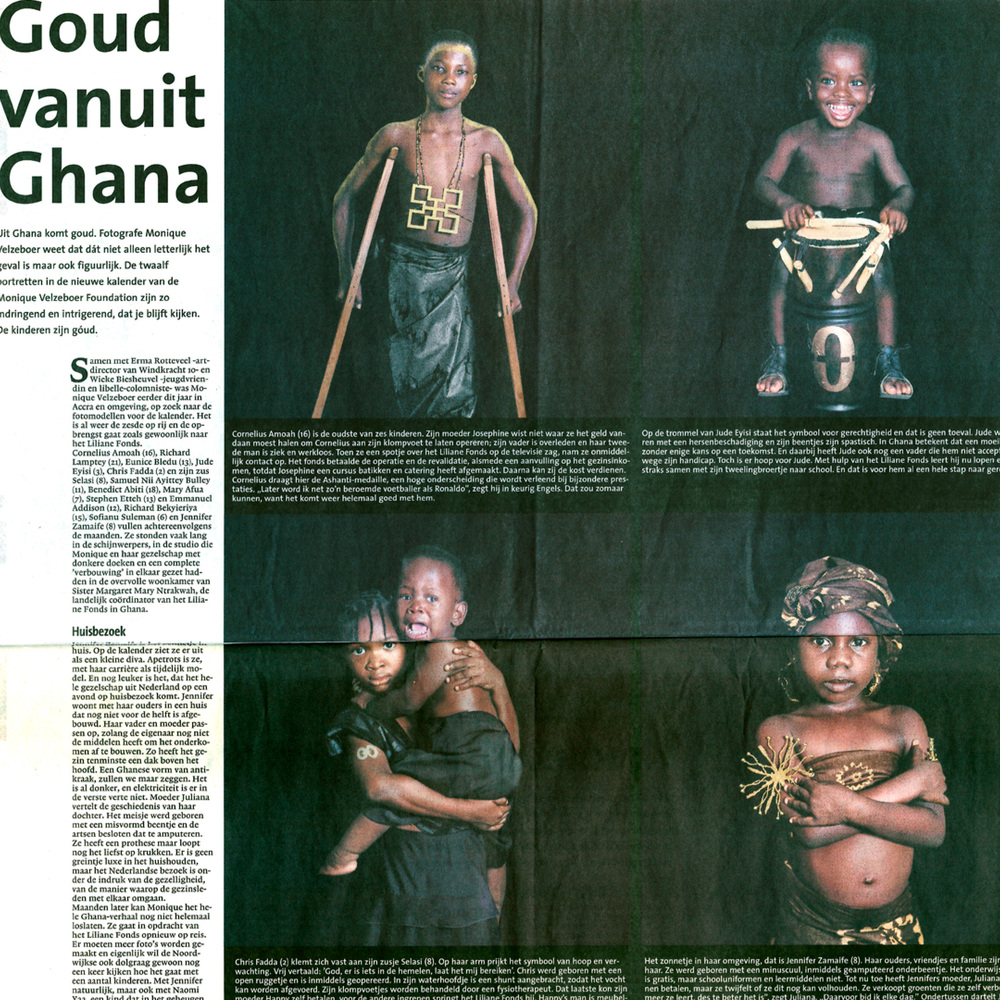Goud vanuit Ghana Leidsch Dagblad 15-11-08