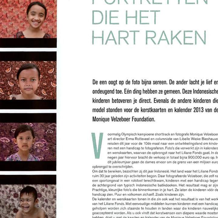 Portretten die het hart raken  Leids Nieuwsblad  21-02-13